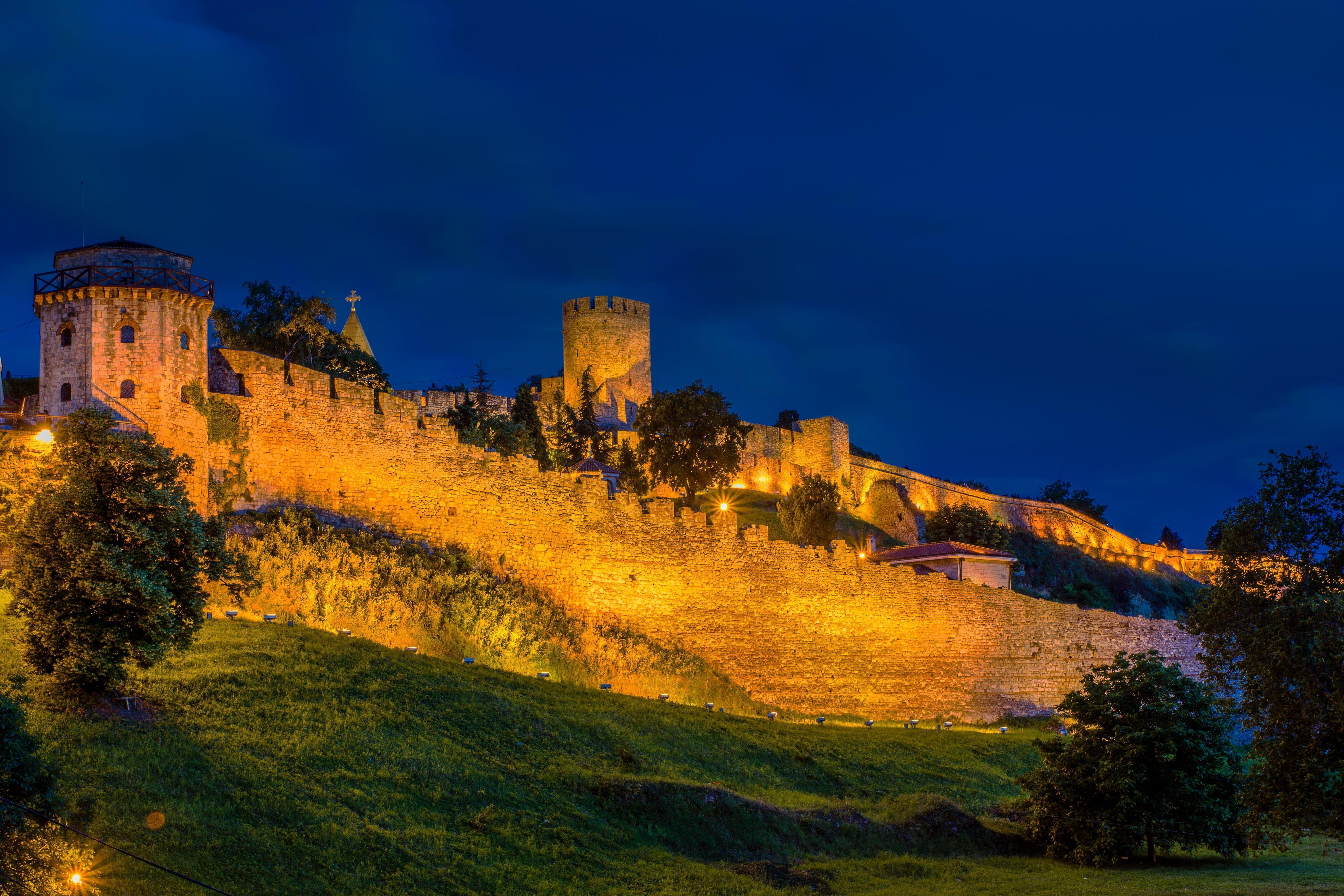Wallpapers Serbia Fortification Belgrade fortress 4762x3175
