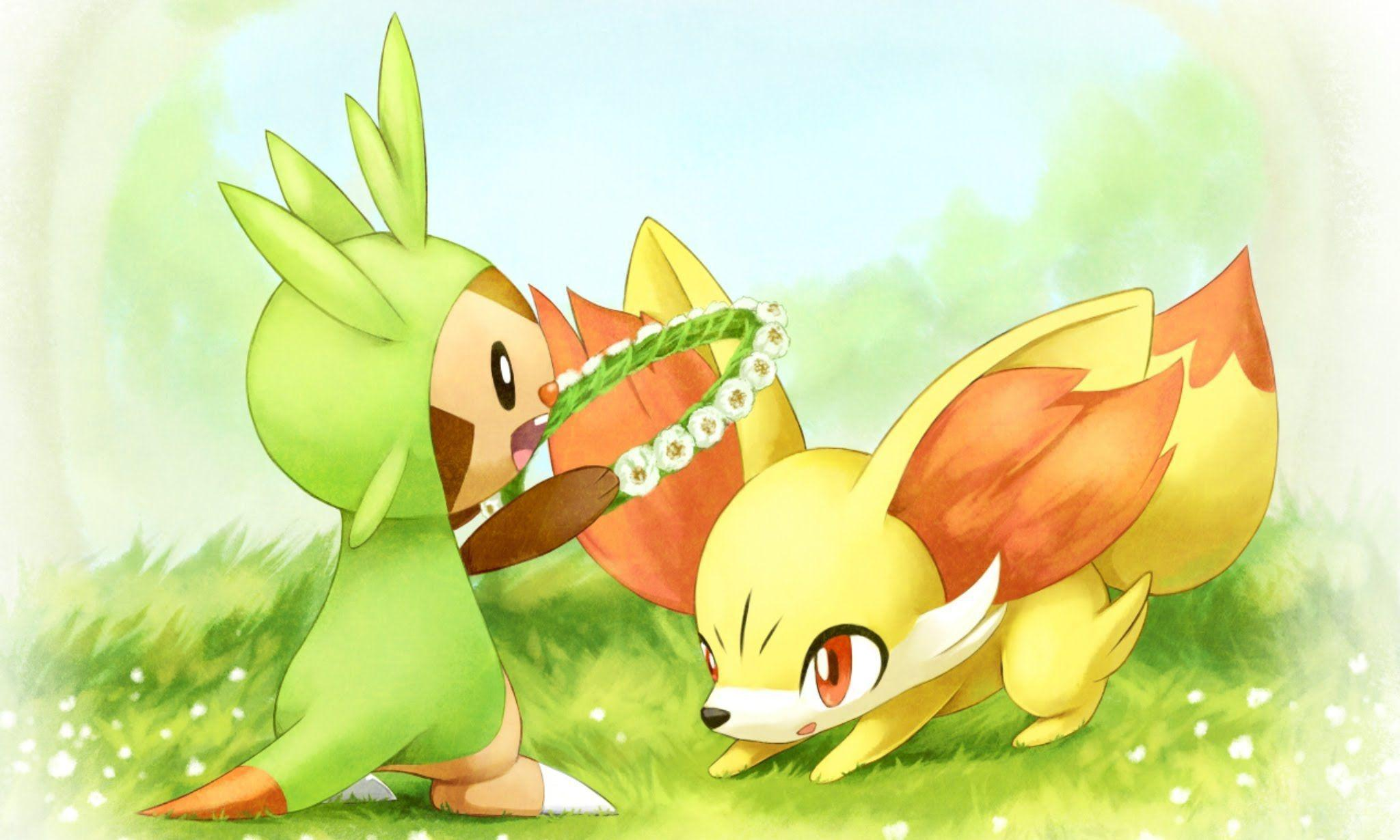 Fennekin Wallpapers Images Photos Pictures Backgrounds