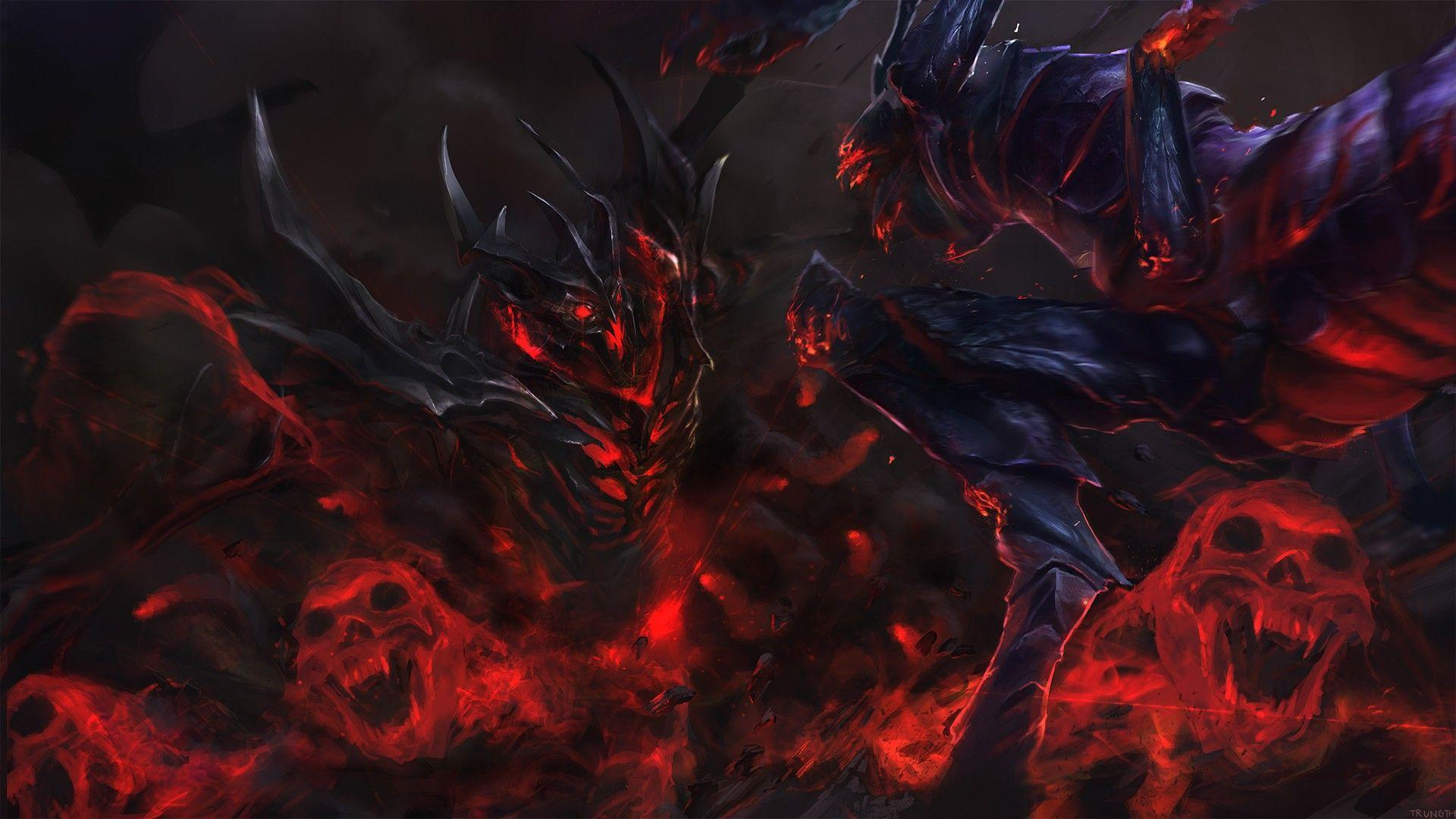 Shadow Fiend Wallpapers Wallpaper Cave