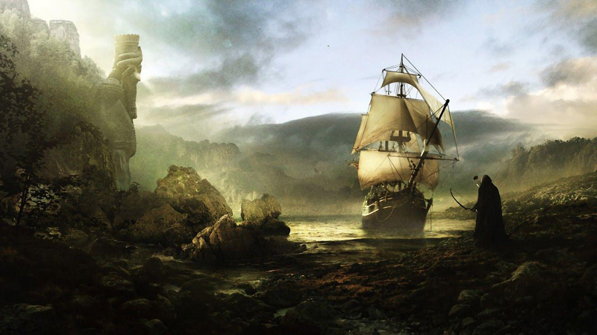 Old Ship Wallpapers - Wallpaper Cave