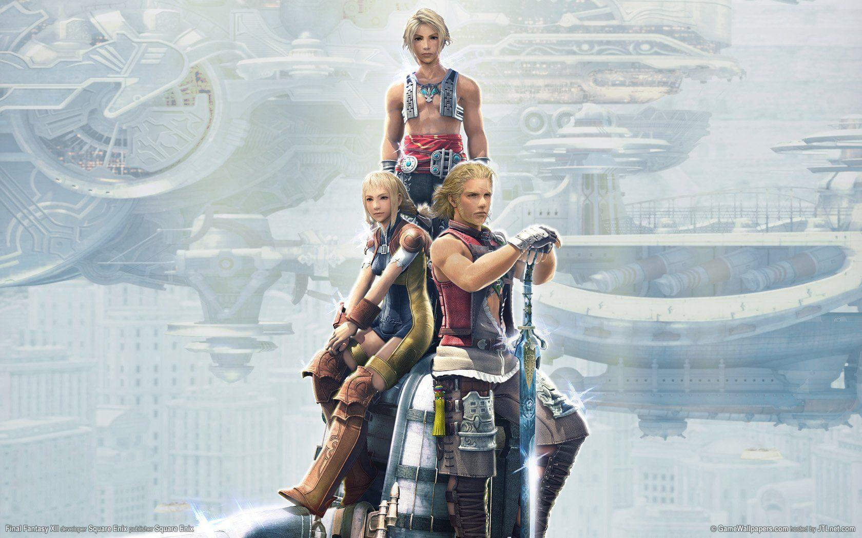 Final Fantasy Xii Wallpapers Wallpaper Cave
