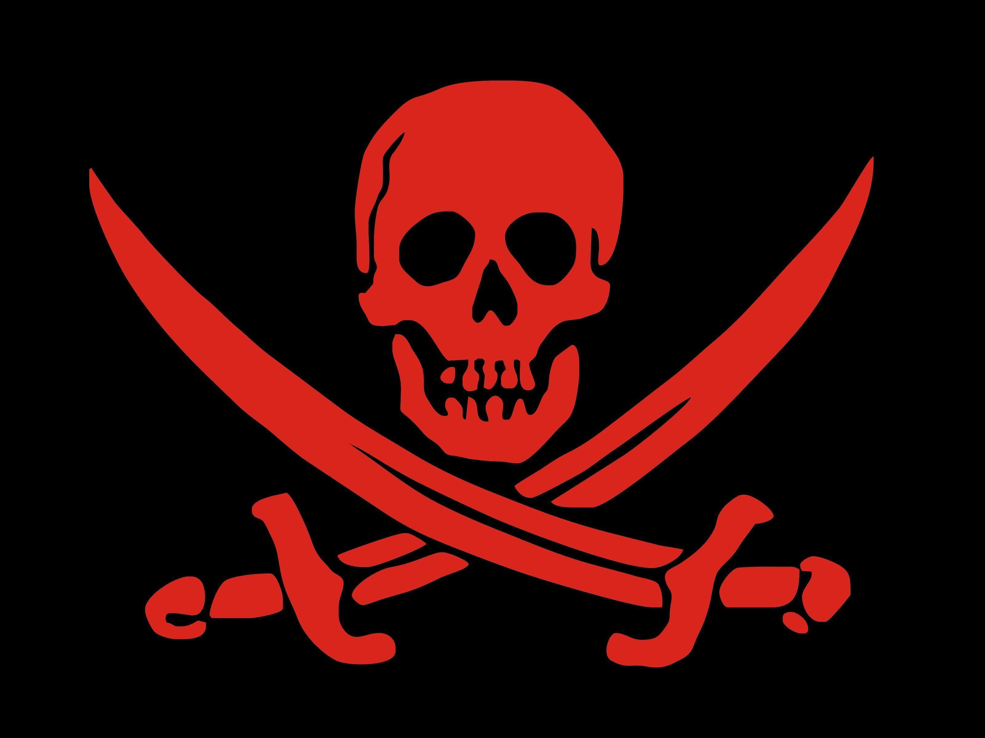 картинка черепа на пиратском флаге карманов все самые