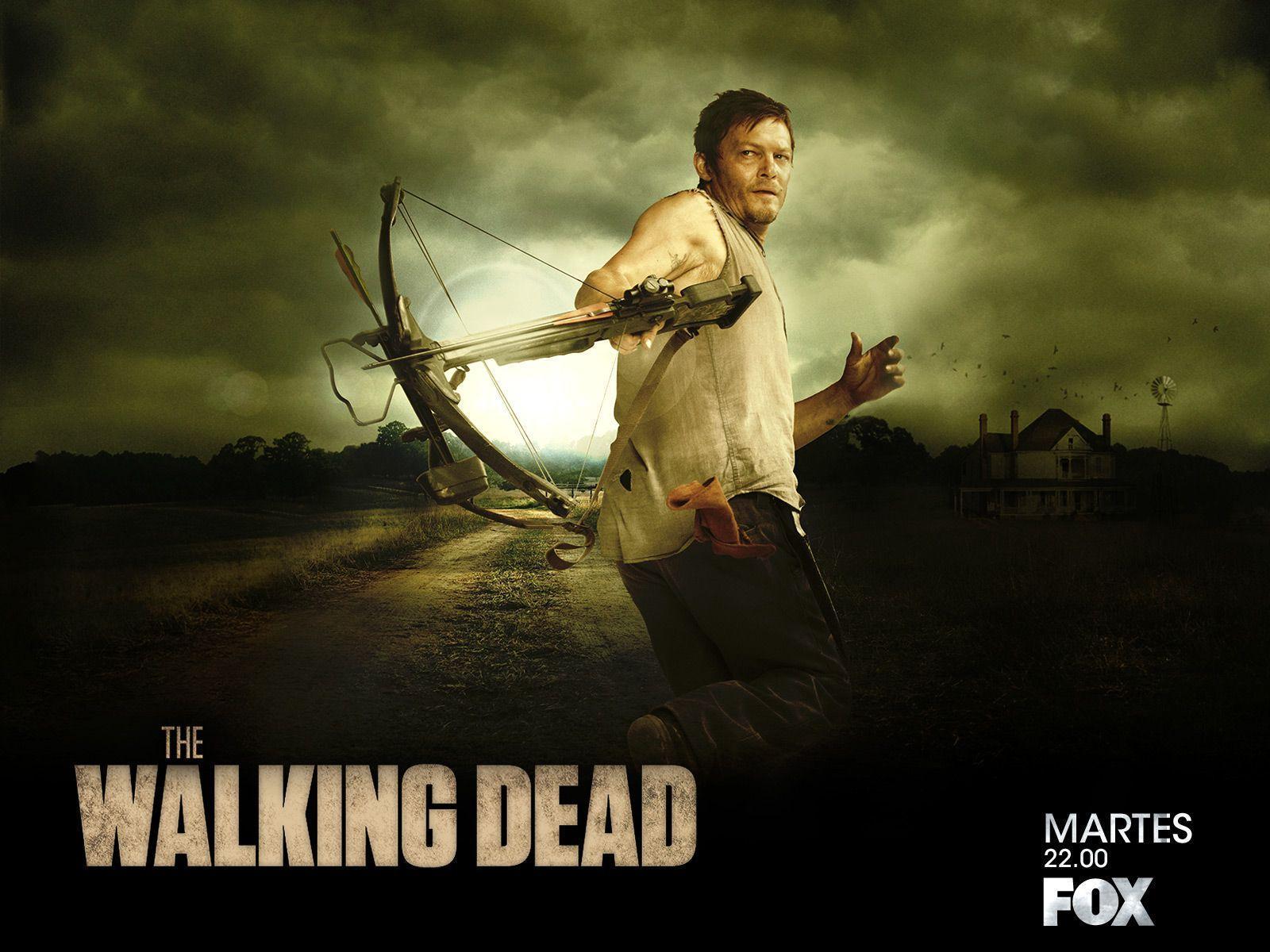 Daryl Dixon The Walking Dead Wallpapers Wallpaper Cave