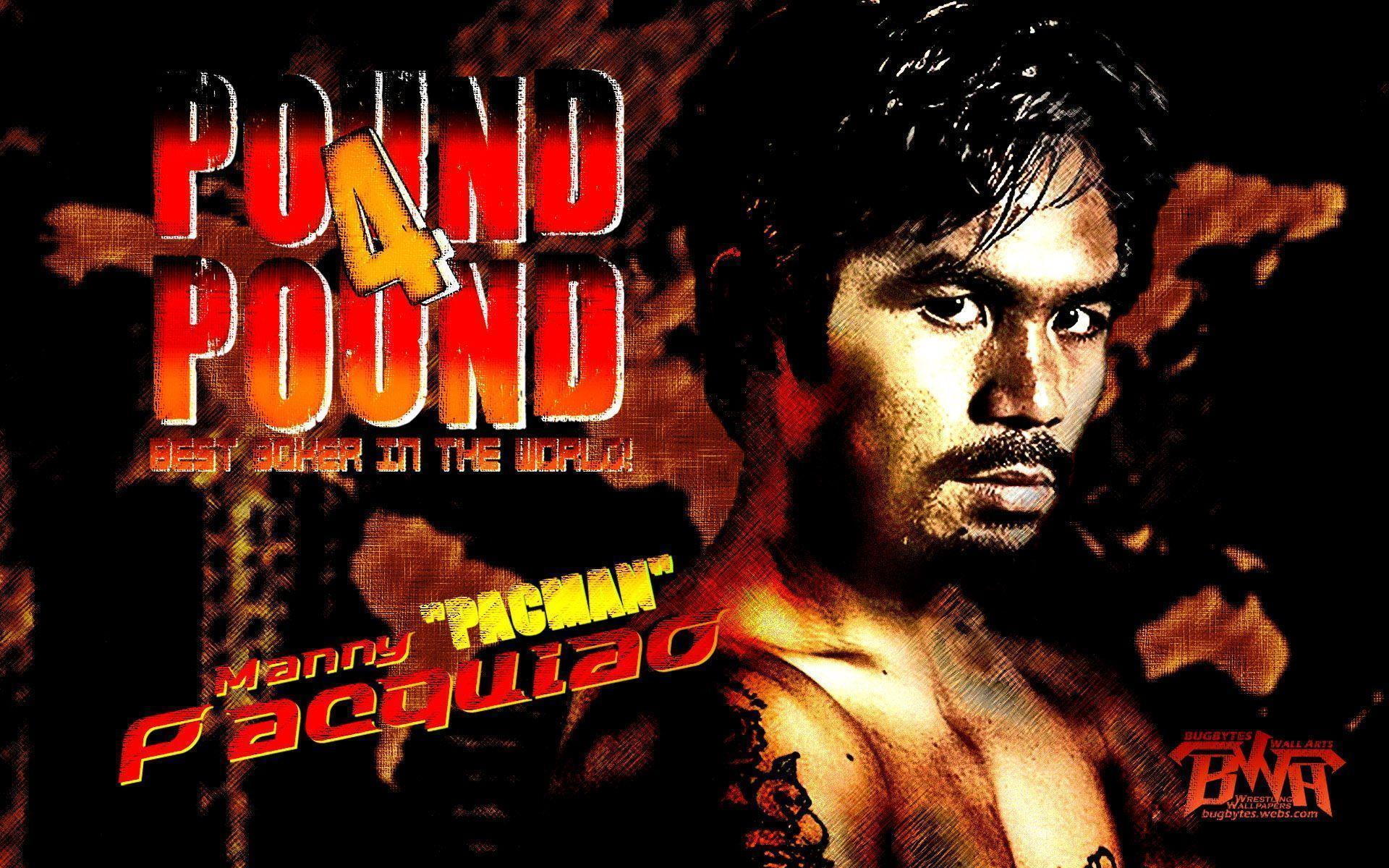 Manny Pacquiao Pound for Pound best boxer Wallpapers