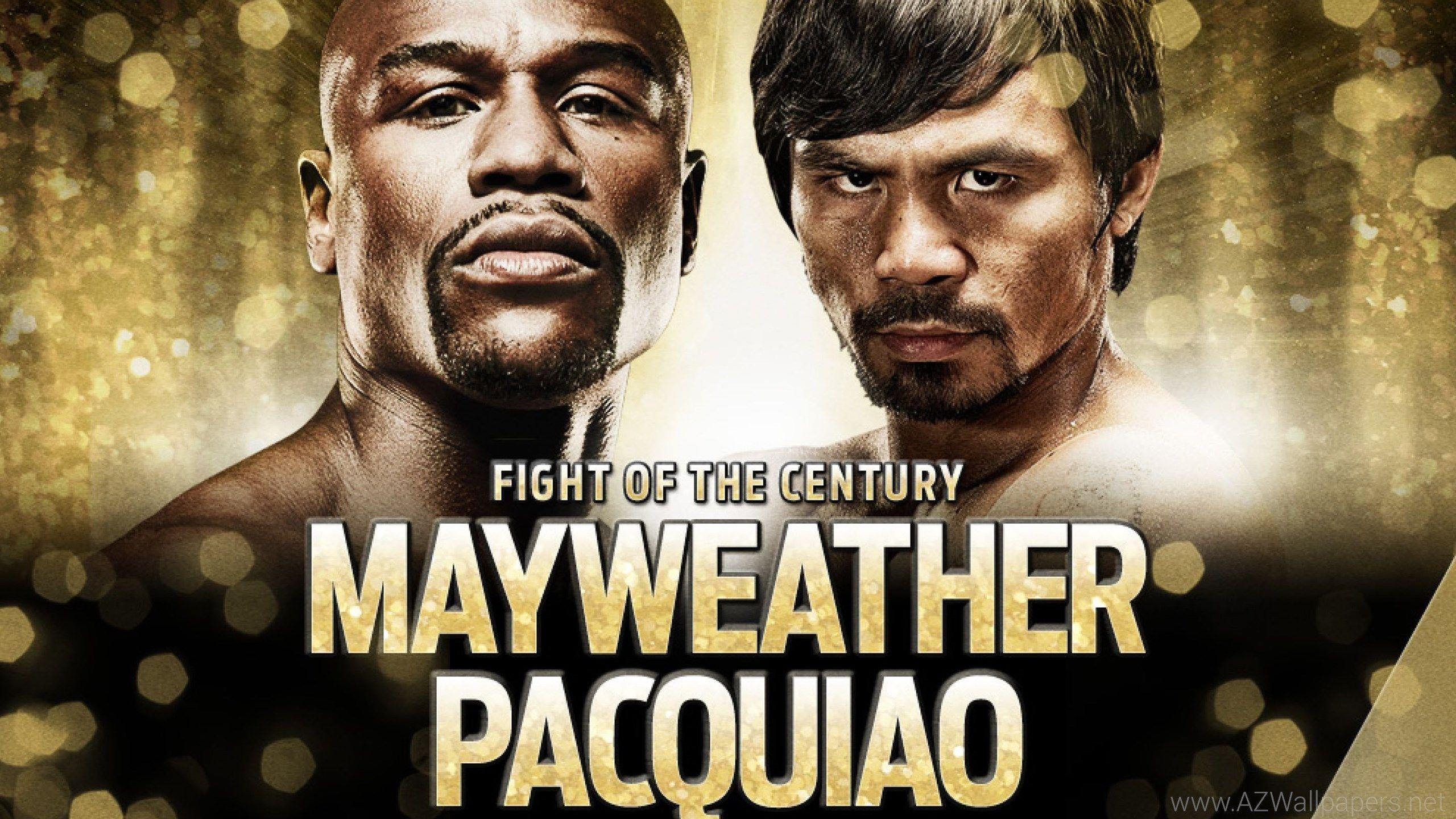 Manny Pacquiao vs Floyd Mayweather 2015 Fight of the Century