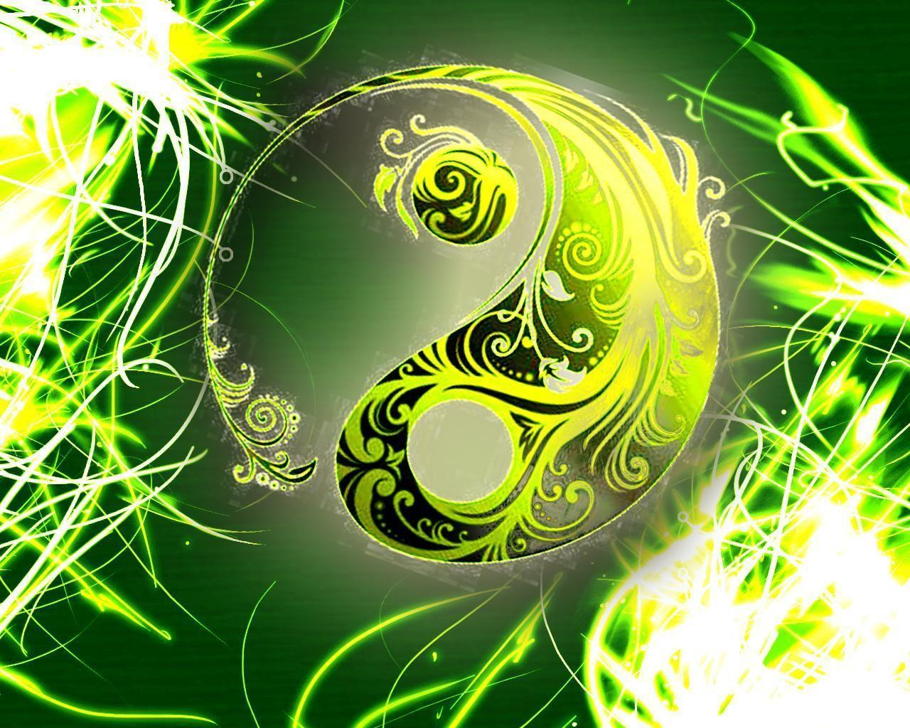 Abstract Yin Yang Wallpapers