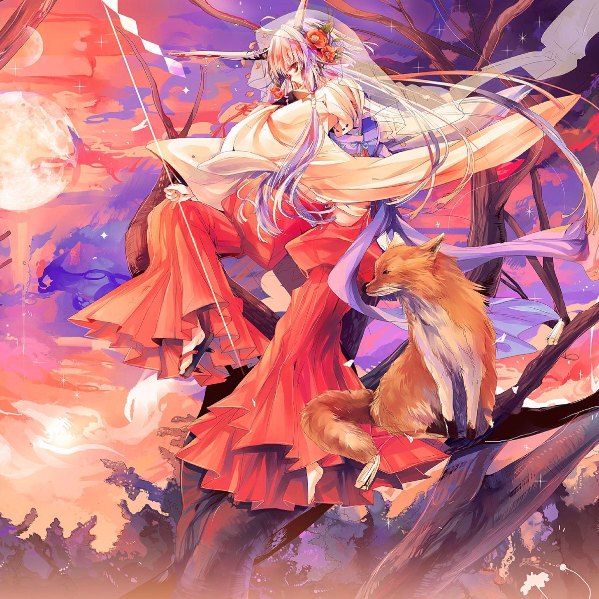 Kitsune Wallpapers Wallpaper Cave