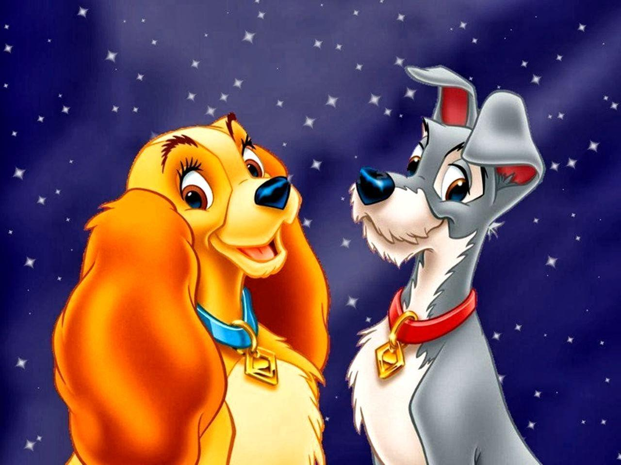 lady and the tramp wallpapers wallpaper cave