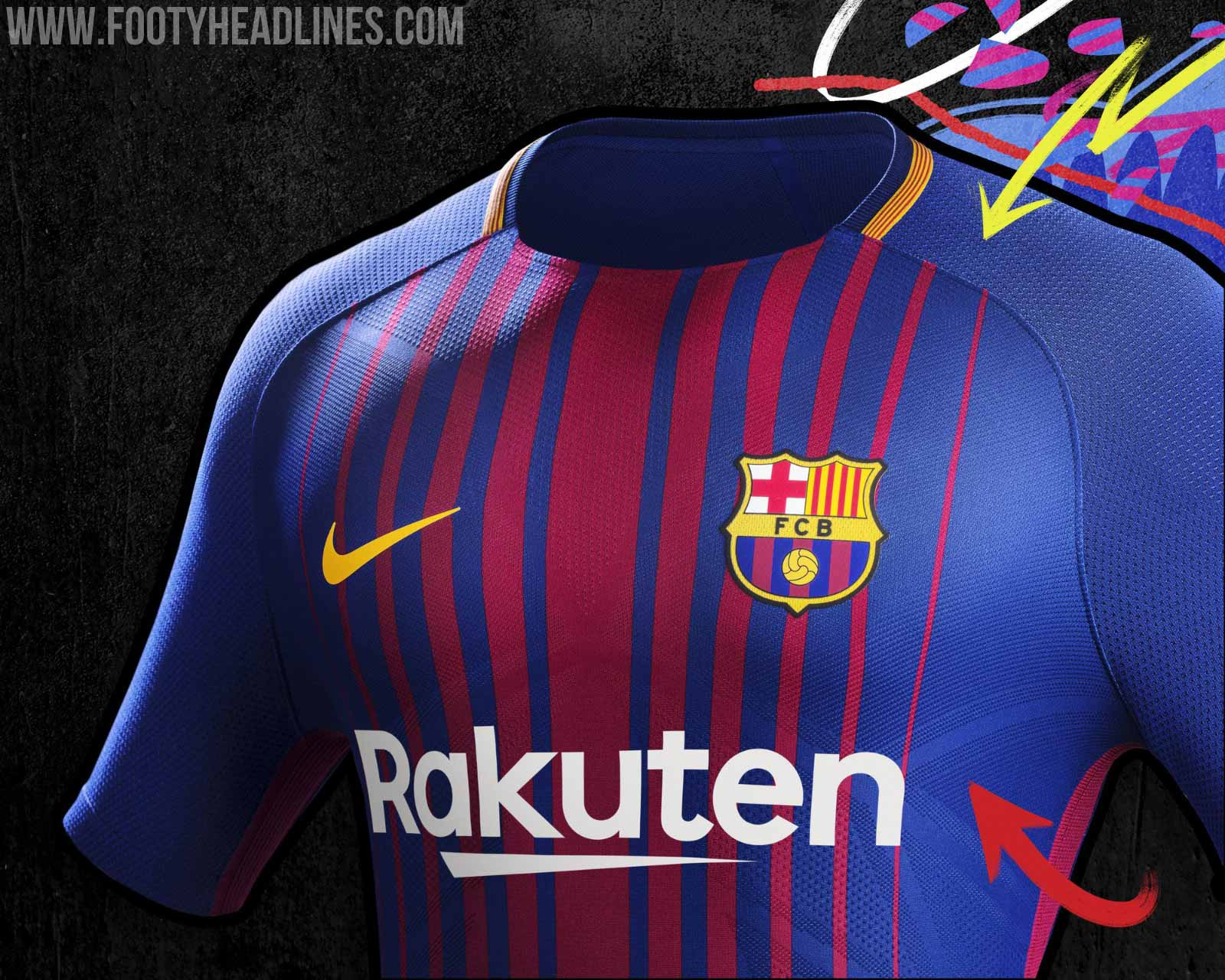 Fc Barcelona 20172018 Wallpapers Wallpaper Cave