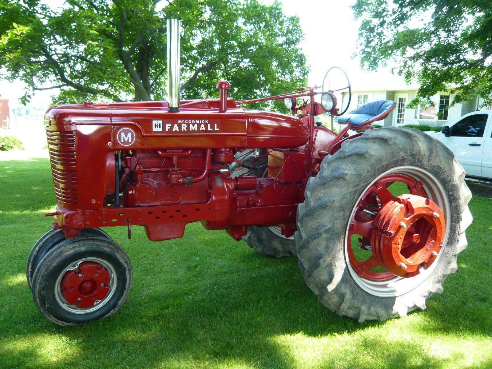 Tractor Tuesday: 1948 Farmall M – Fastline Front Page
