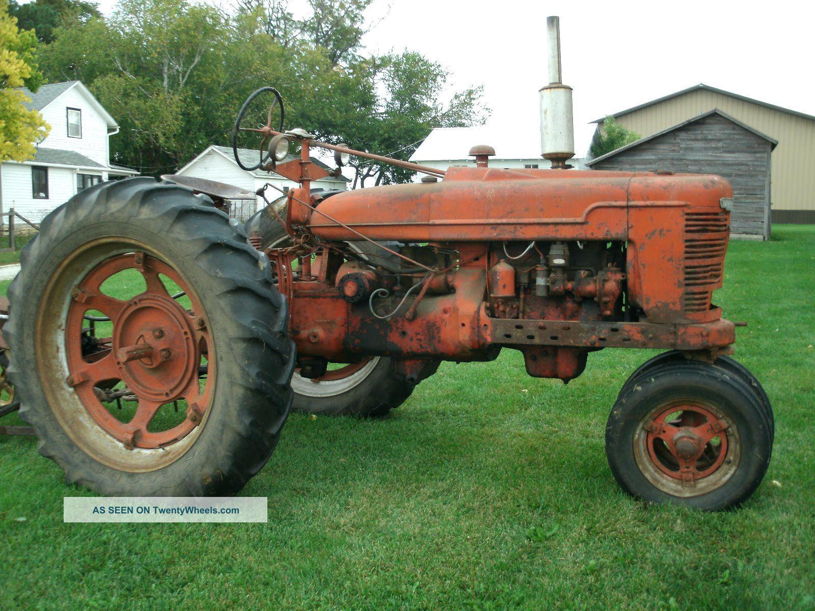 International H Tractor – not-here.me