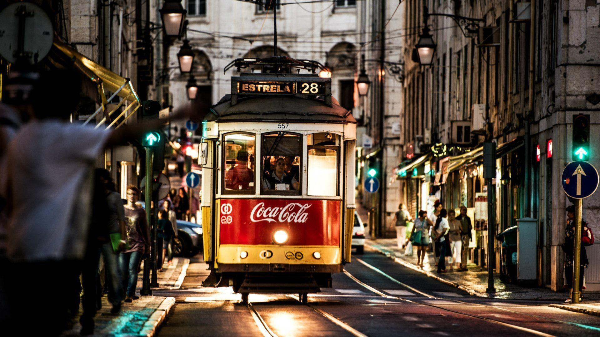 Tram in Lisbon, Portugal wallpapers and images - wallpapers ...