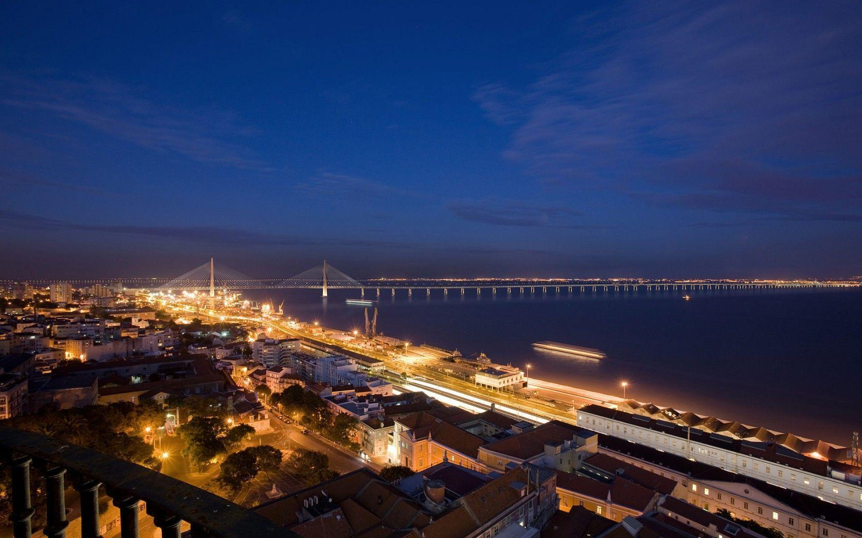 Nocturna New Lisbon Bridge Wallpapers | HD Wallpapers