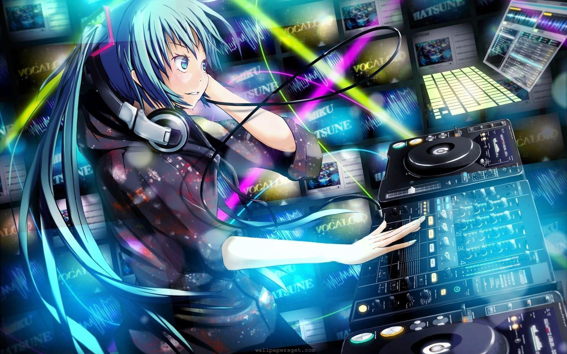 Anime Dj Wallpapers Wallpaper Cave