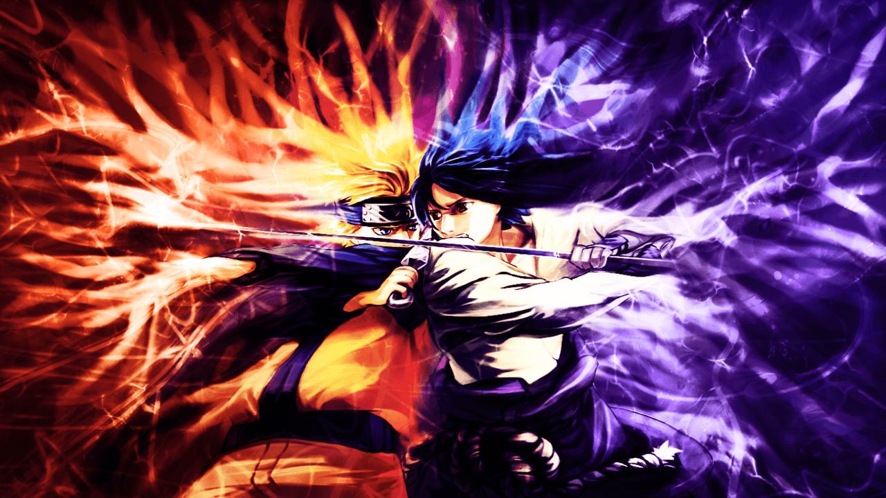 Sasuke Vs Naruto Wallpapers Wallpaper Cave