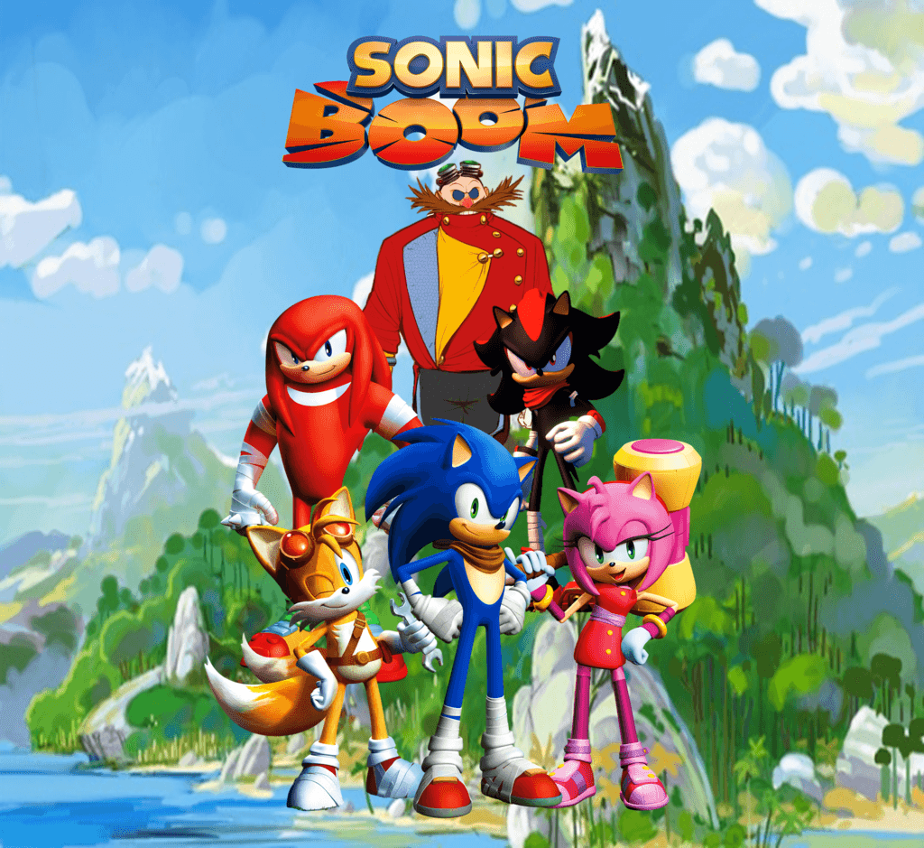 Sonic Boom Wallpapers - Wallpaper Cave