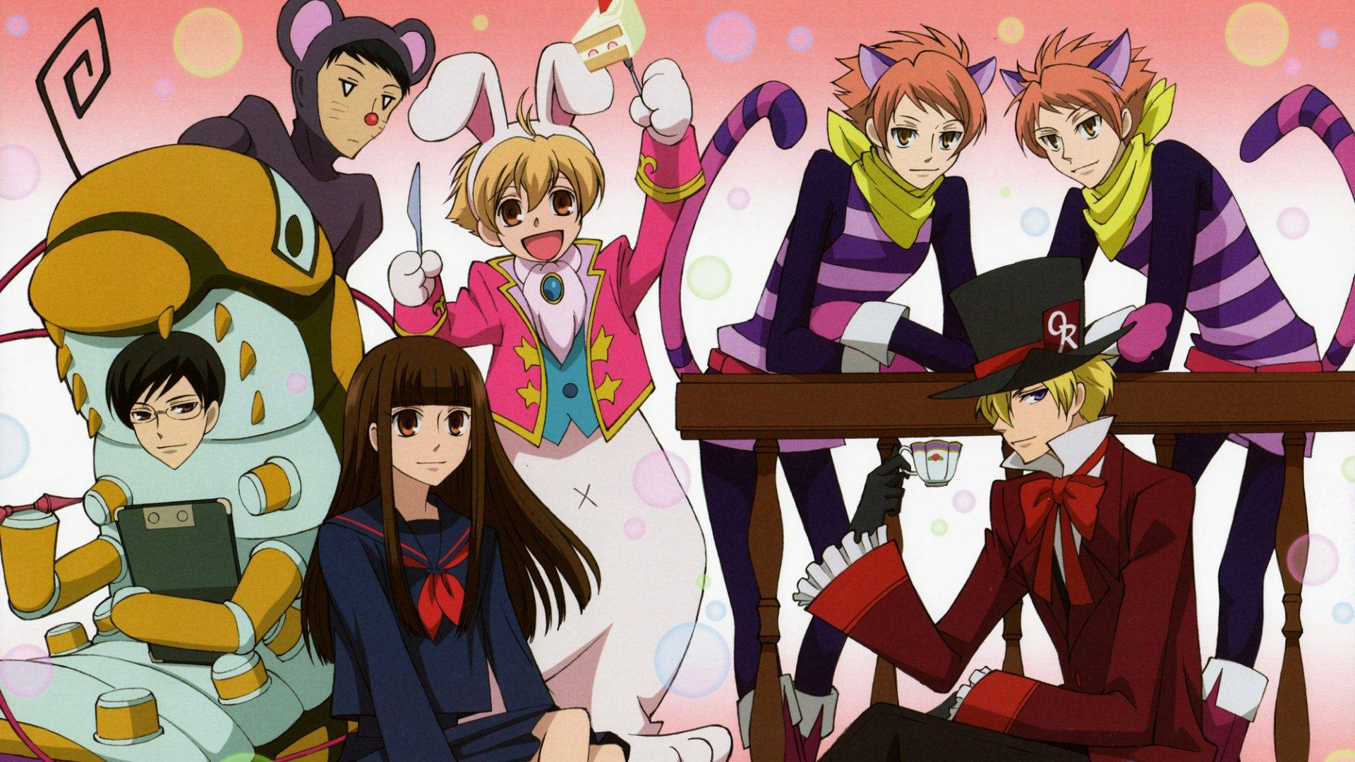 Ouran High School Host Club Wallpapers Wallpaper Cave