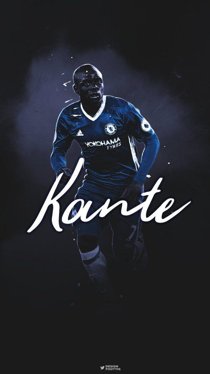 Daniel on Twitter: N'Golo #Kanté   #Chelsea Phone Wallpaper (RTs