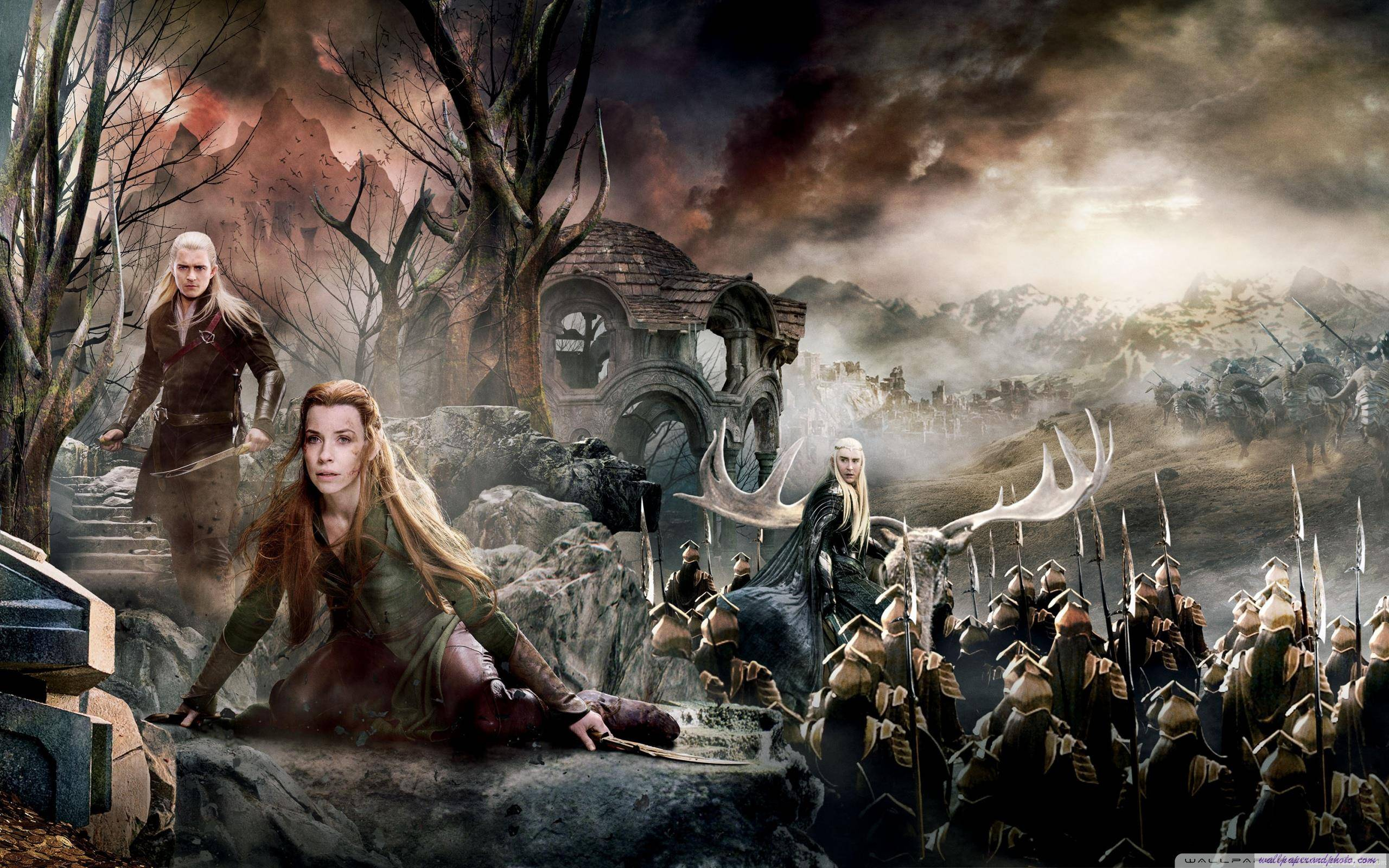 Thranduil Battle Of The Five Armies Wallpaper 18186