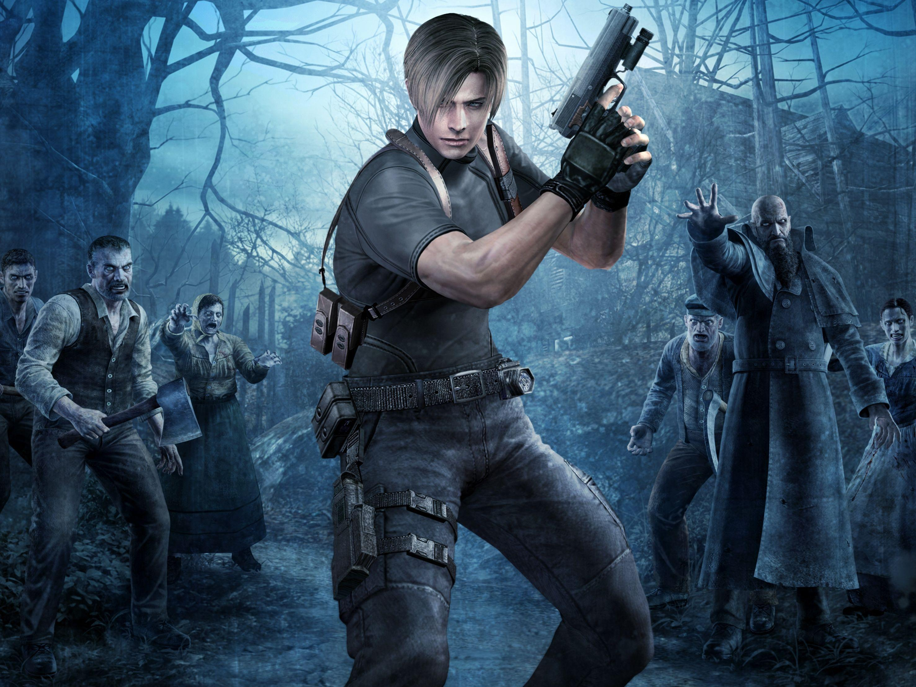 Resident Evil 4 Wallpapers Hd Wallpaper Cave