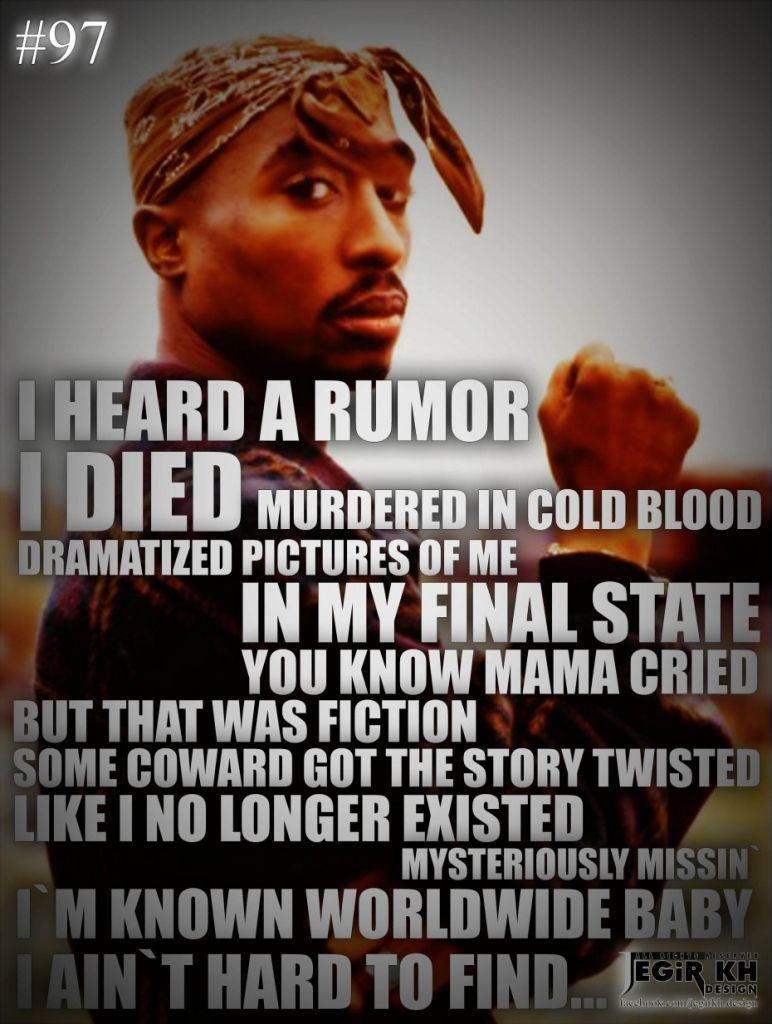2Pac Quotes About Life Wallpapers Thug