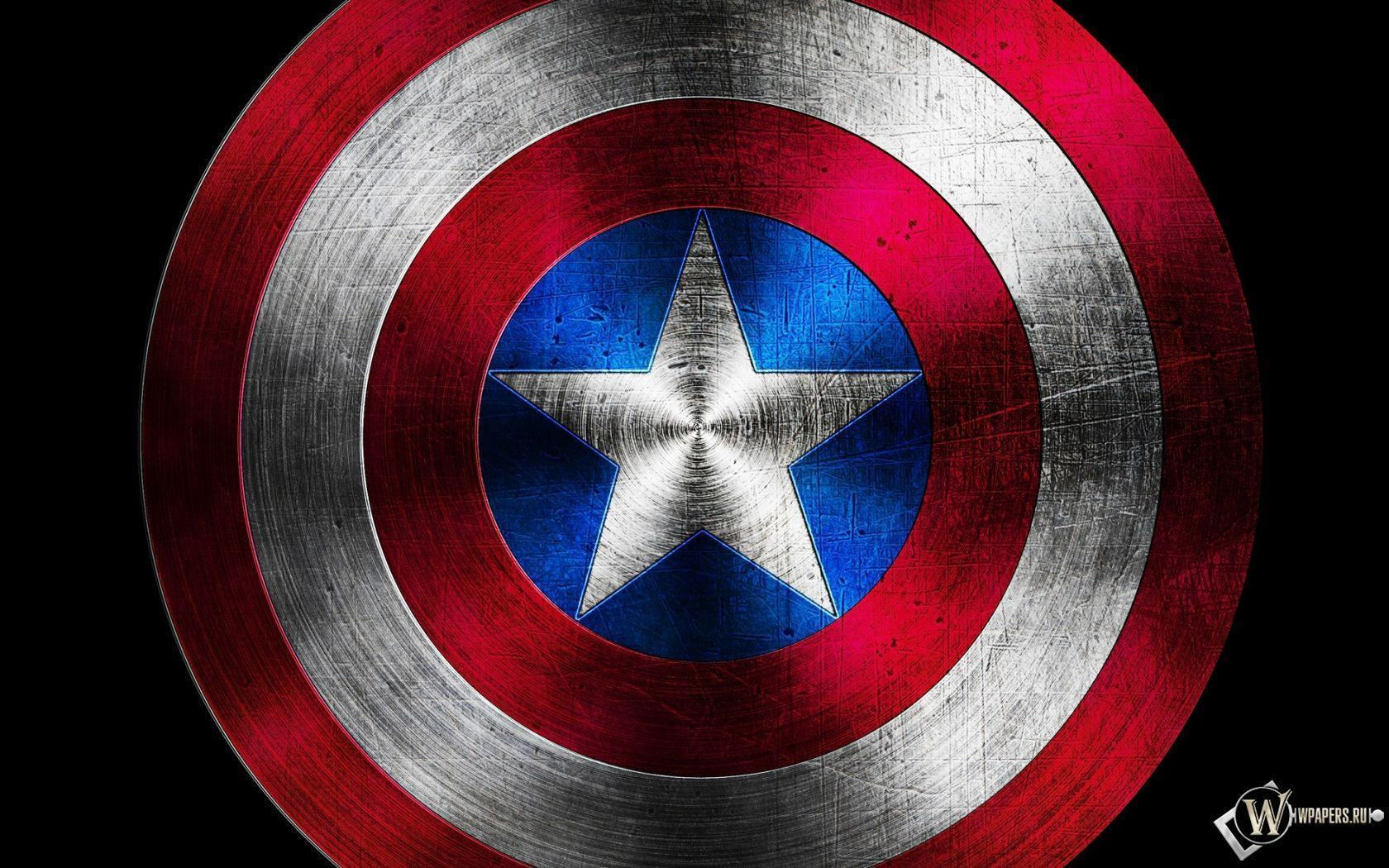 Captain America Logo Hd Wallpaper