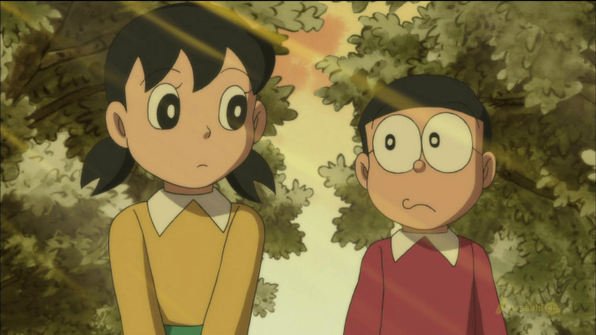 Nobita And Shizuka Wallpapers Wallpaper Cave