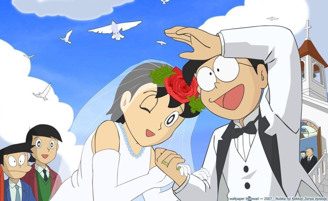 Nobita And Shizuka Wallpapers - Wallpaper Cave