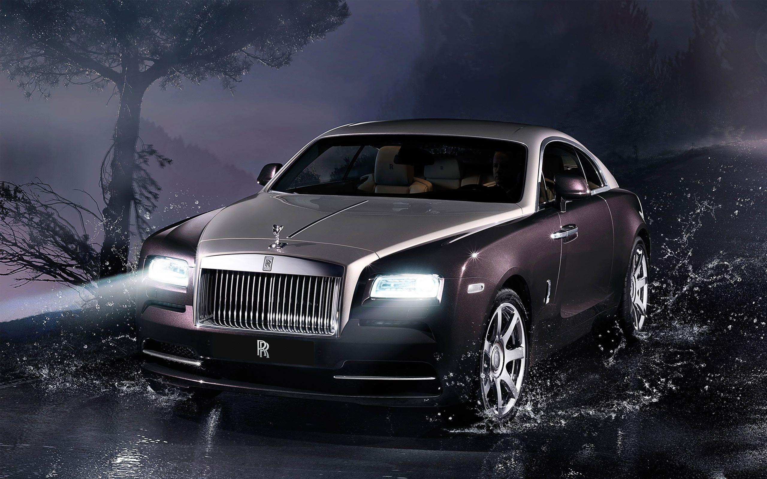 Rolls Royce Wraith 2014 Wallpapers
