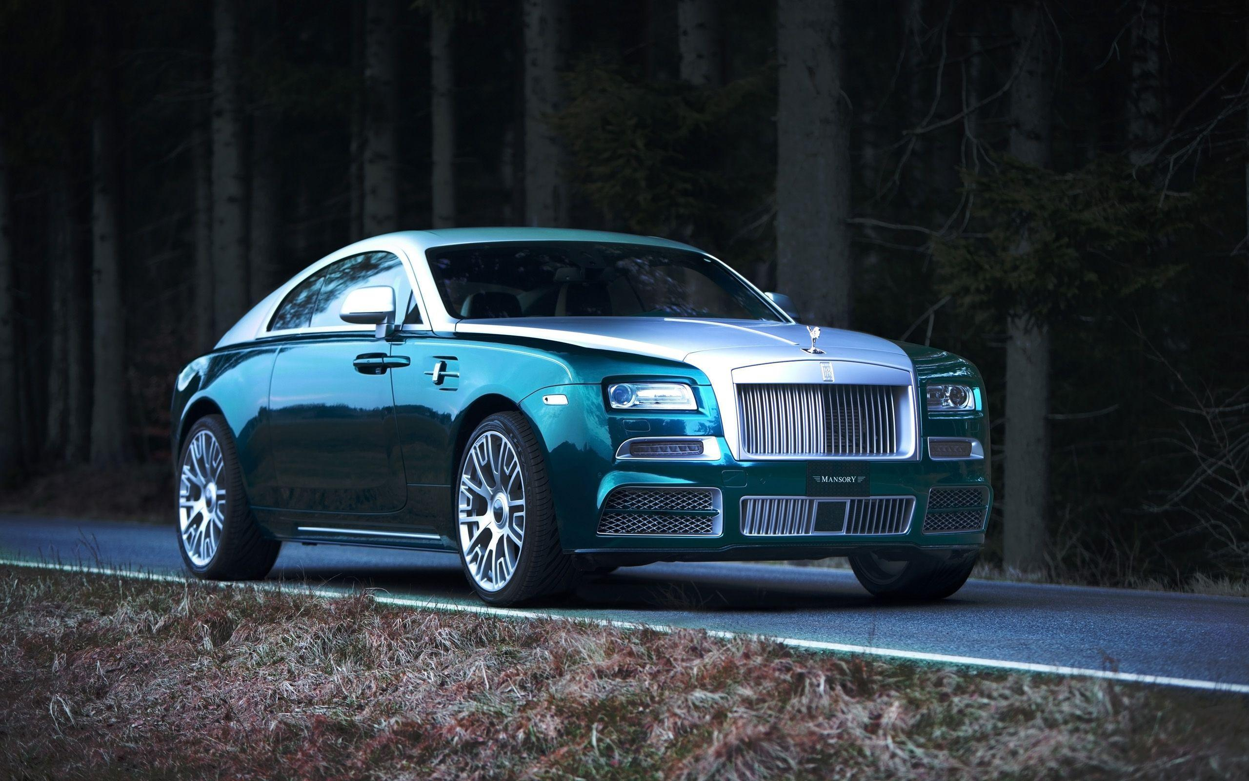 2014 Mansory Rolls Royce Wraith Wallpapers