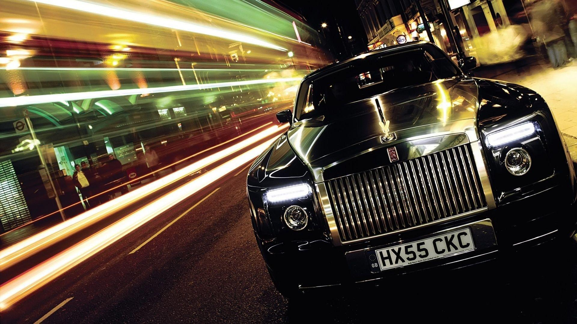 rolls royce phantom black hd wallpapers 1080p collection free