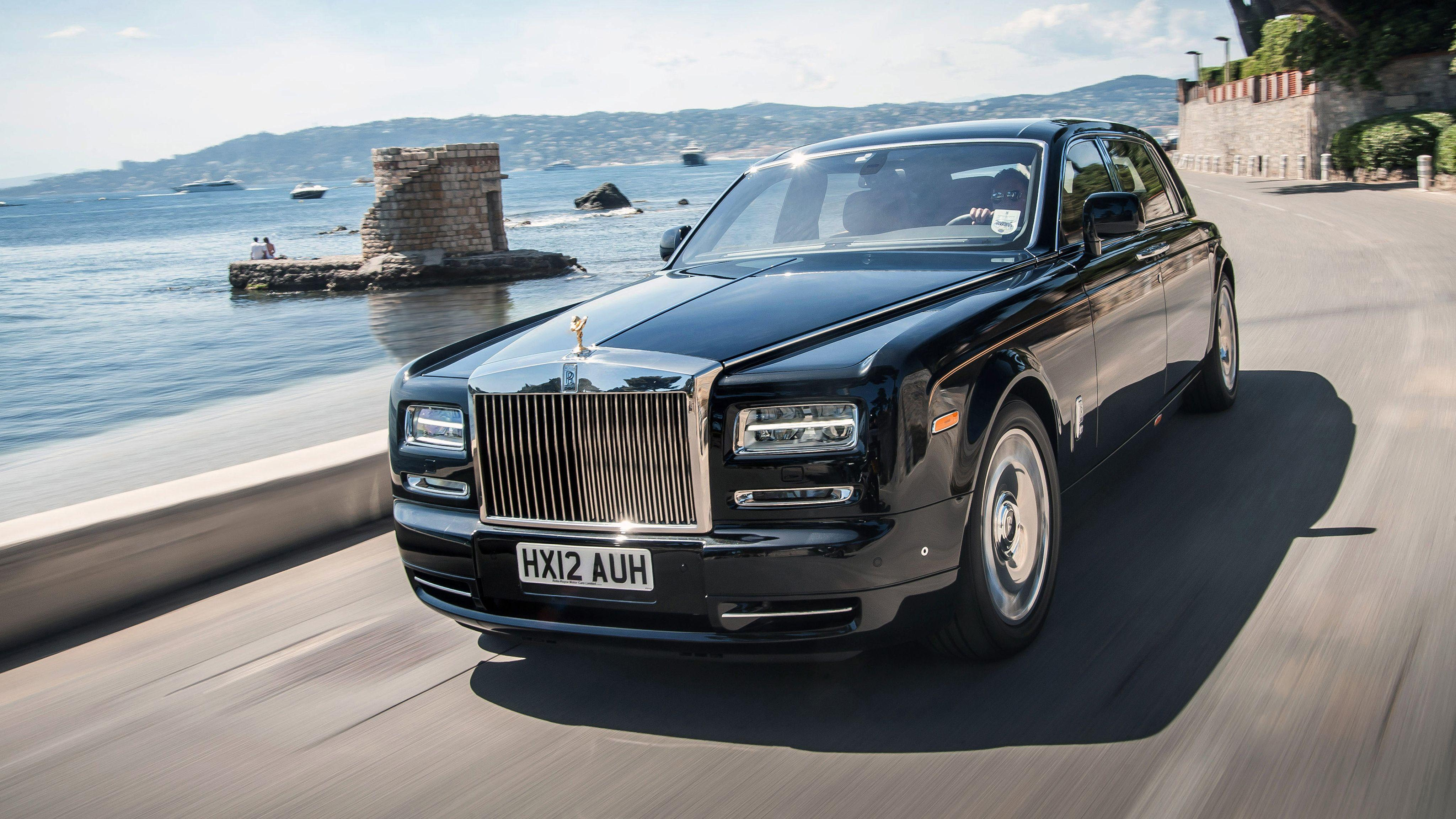 Rolls Royce Phantom EWB 2017 4K Wallpapers