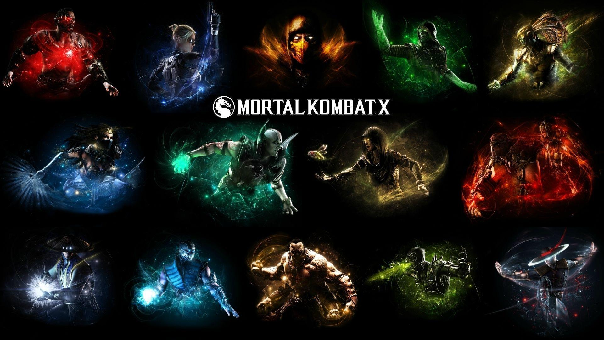 Mortal Kombat X SubZero Vs Scorpion HD Desktop Wallpaper High