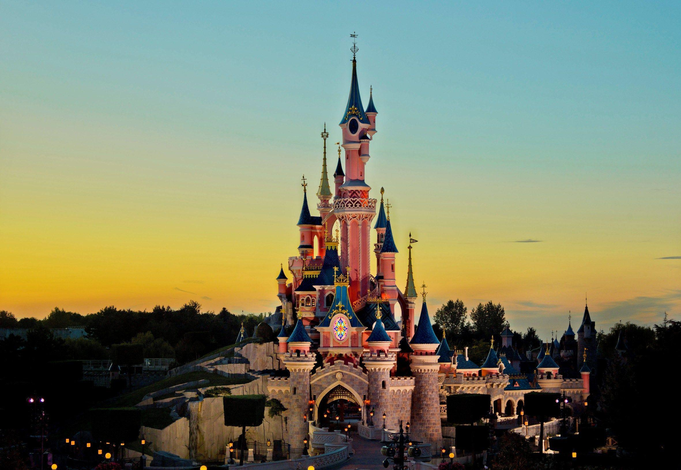 Castle Disneyland Paris Wallpapers Wallpaper Cave