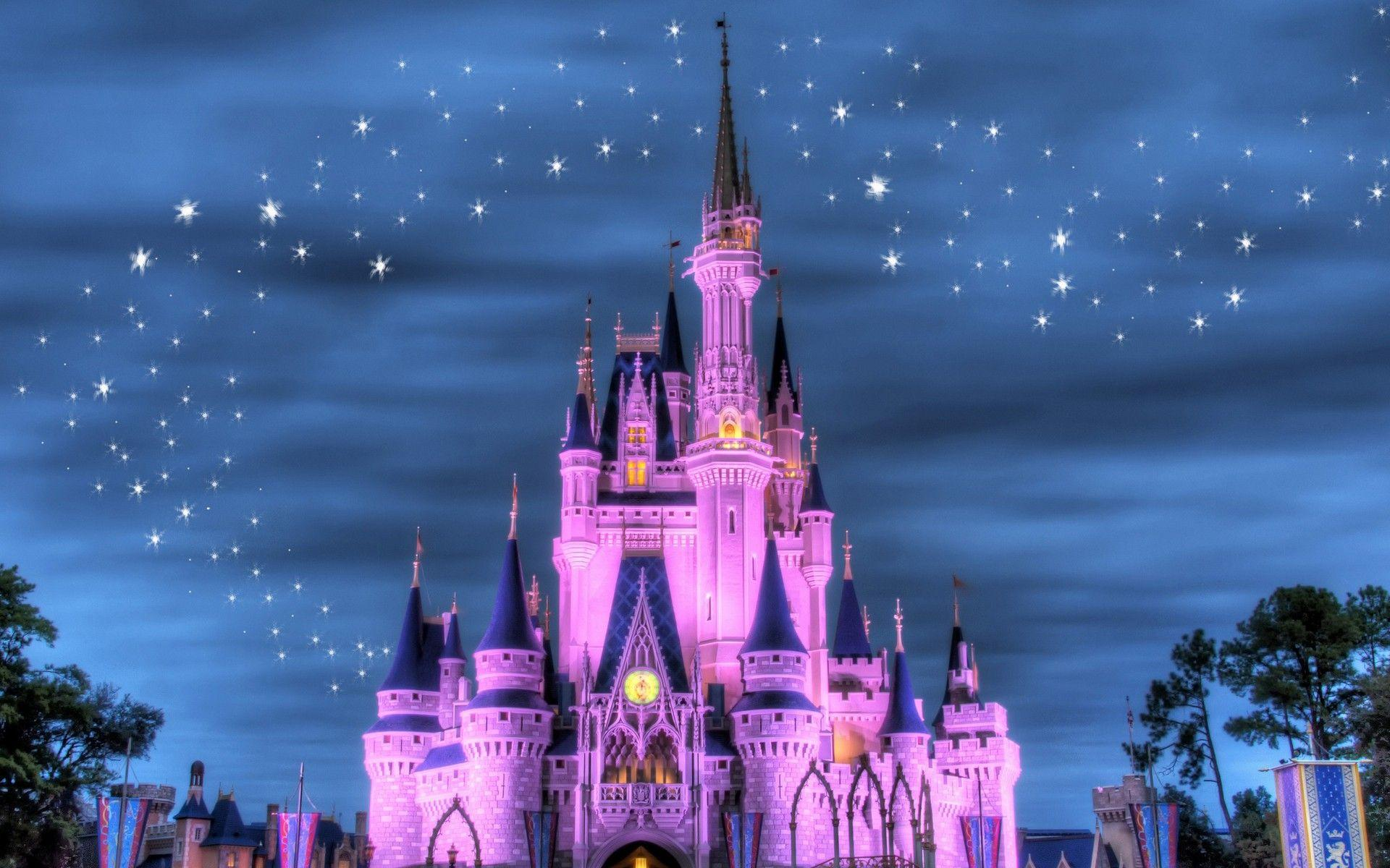 Disney Castle iPhone Wallpaper - WallpaperSafari