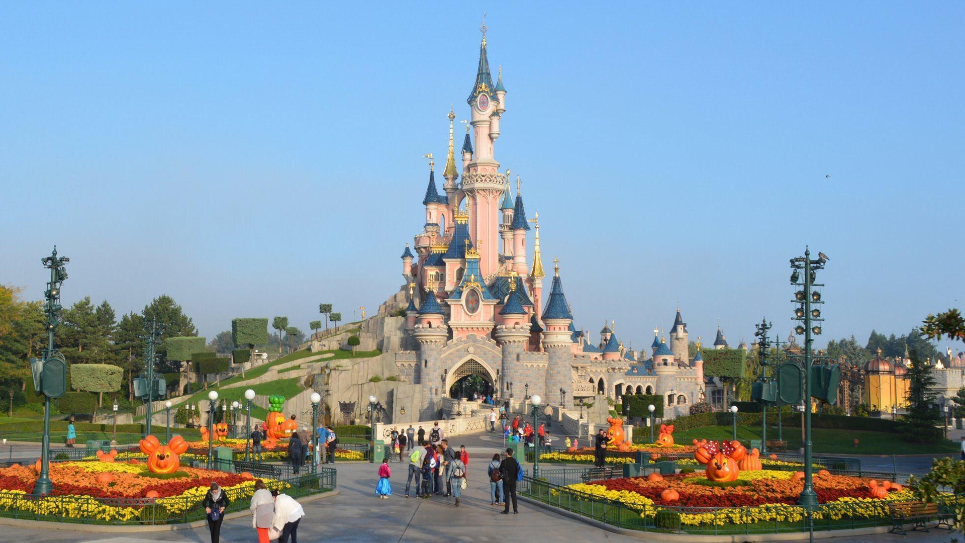 Castle Disneyland Paris Wallpapers Wallpaper Cave