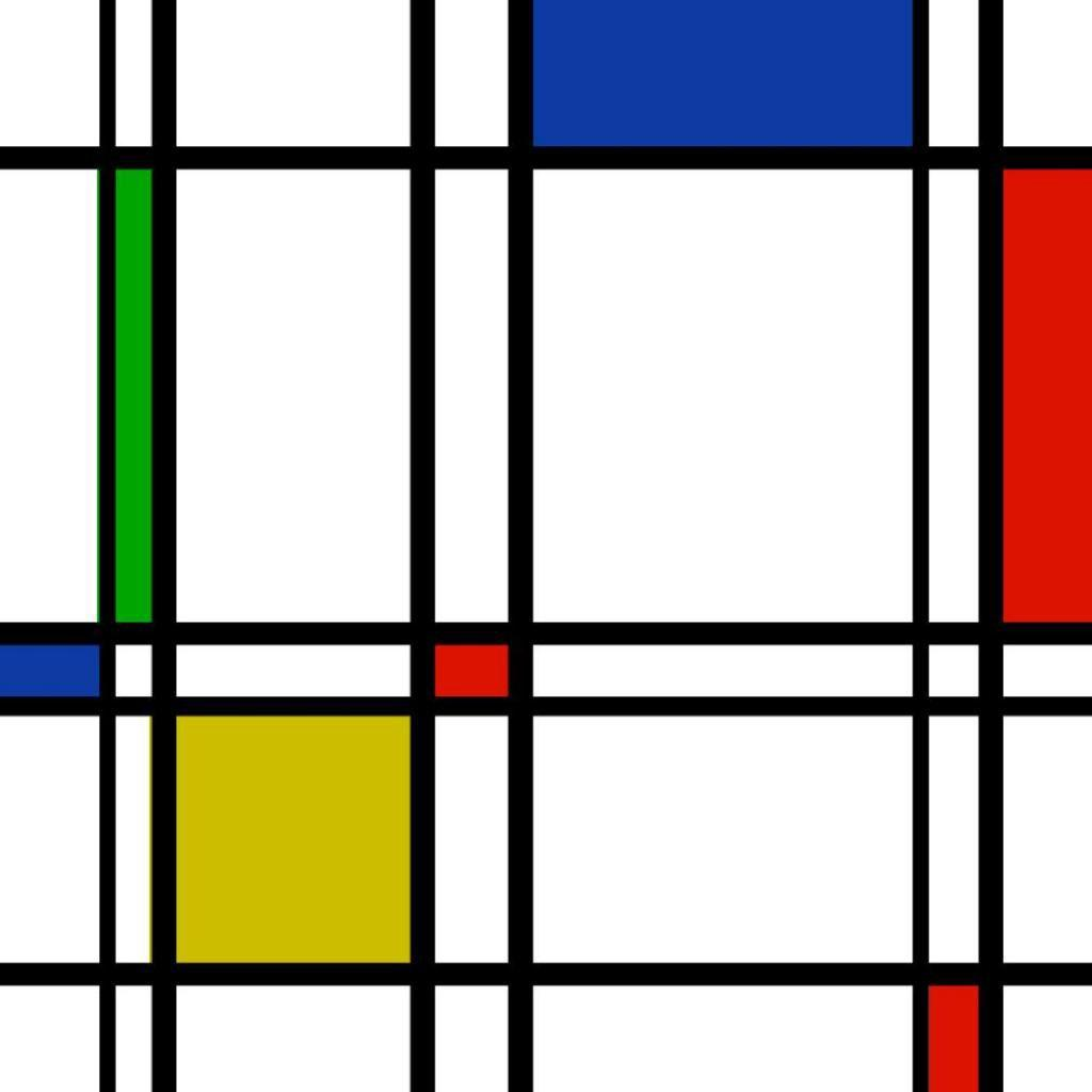 mondrian-ipad-wallpaper.jpg (1024×1024) | iPad wallpaper .