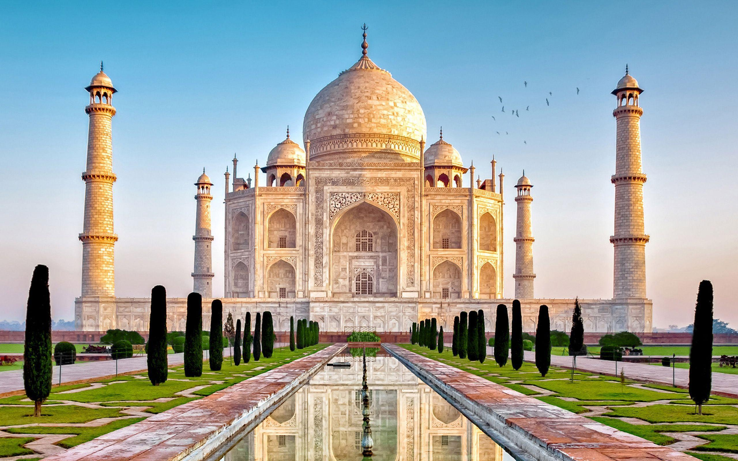 Taj Mahal Hd Wallpapers Wallpaper Cave