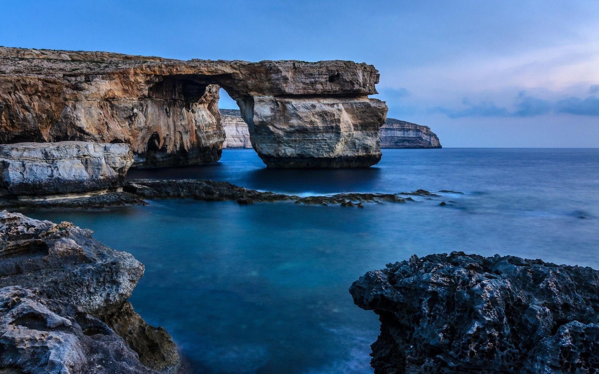 Malta Rock Sea Coast | Nature HD 4k Wallpapers