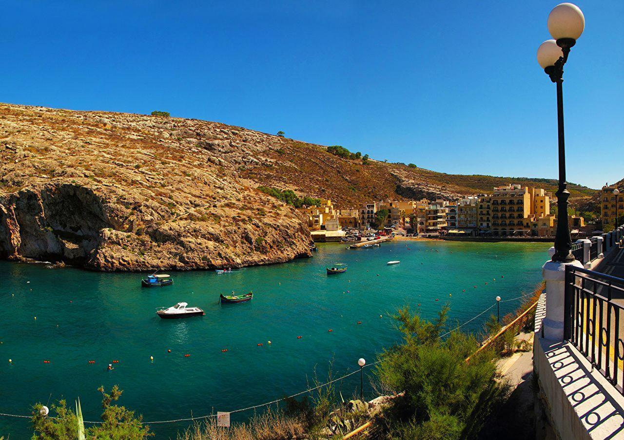 Wallpapers Malta Munxar Scenery Rivers Cities