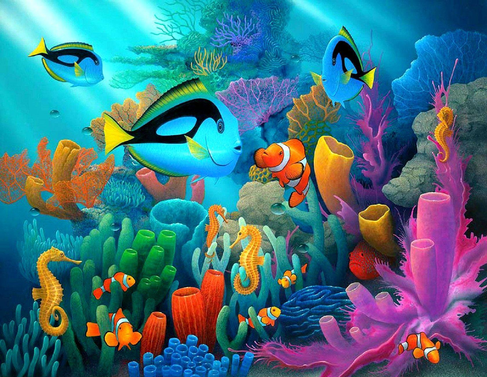Underwater World Wallpapers HD Pictures –
