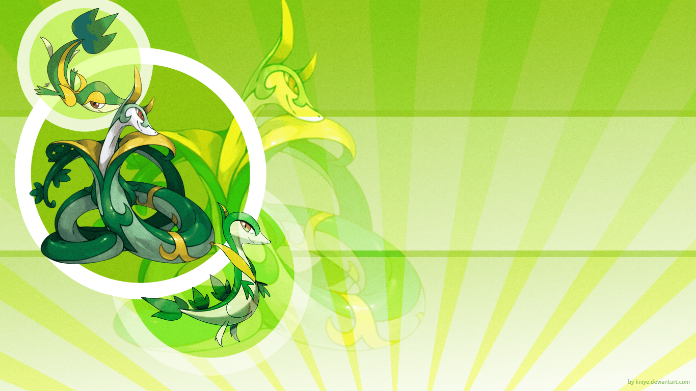 Snivy Wallpapers - Wallpaper Cave