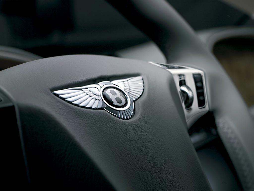 Bentley Logo On Steering Wallpapers