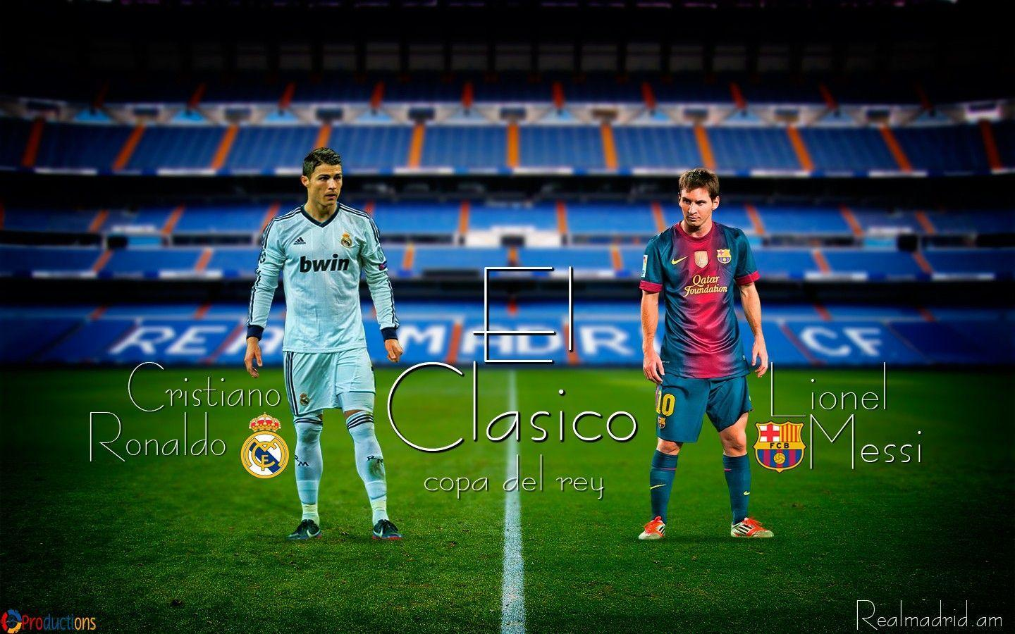 Barcelona Vs Real Madrid Wallpapers Wallpaper Cave