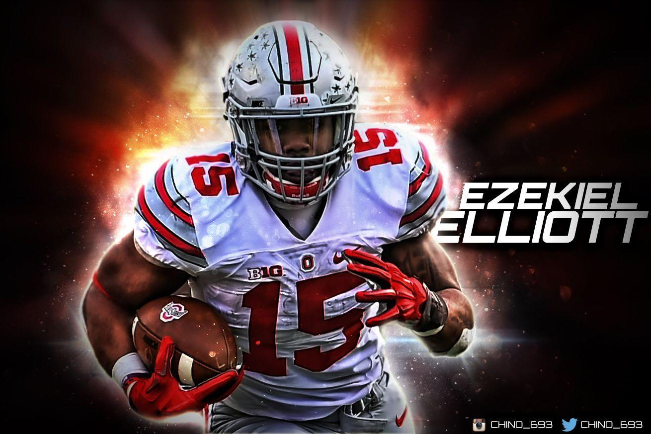 new products 7181f 45a64 Ezekiel Elliott Wallpapers - Wallpaper Cave