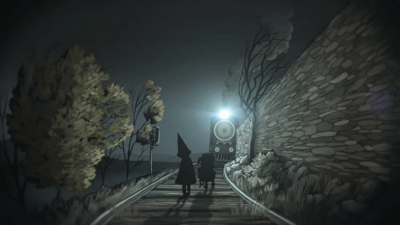 Over The Garden Wall Wallpapers Wallpaper Cave