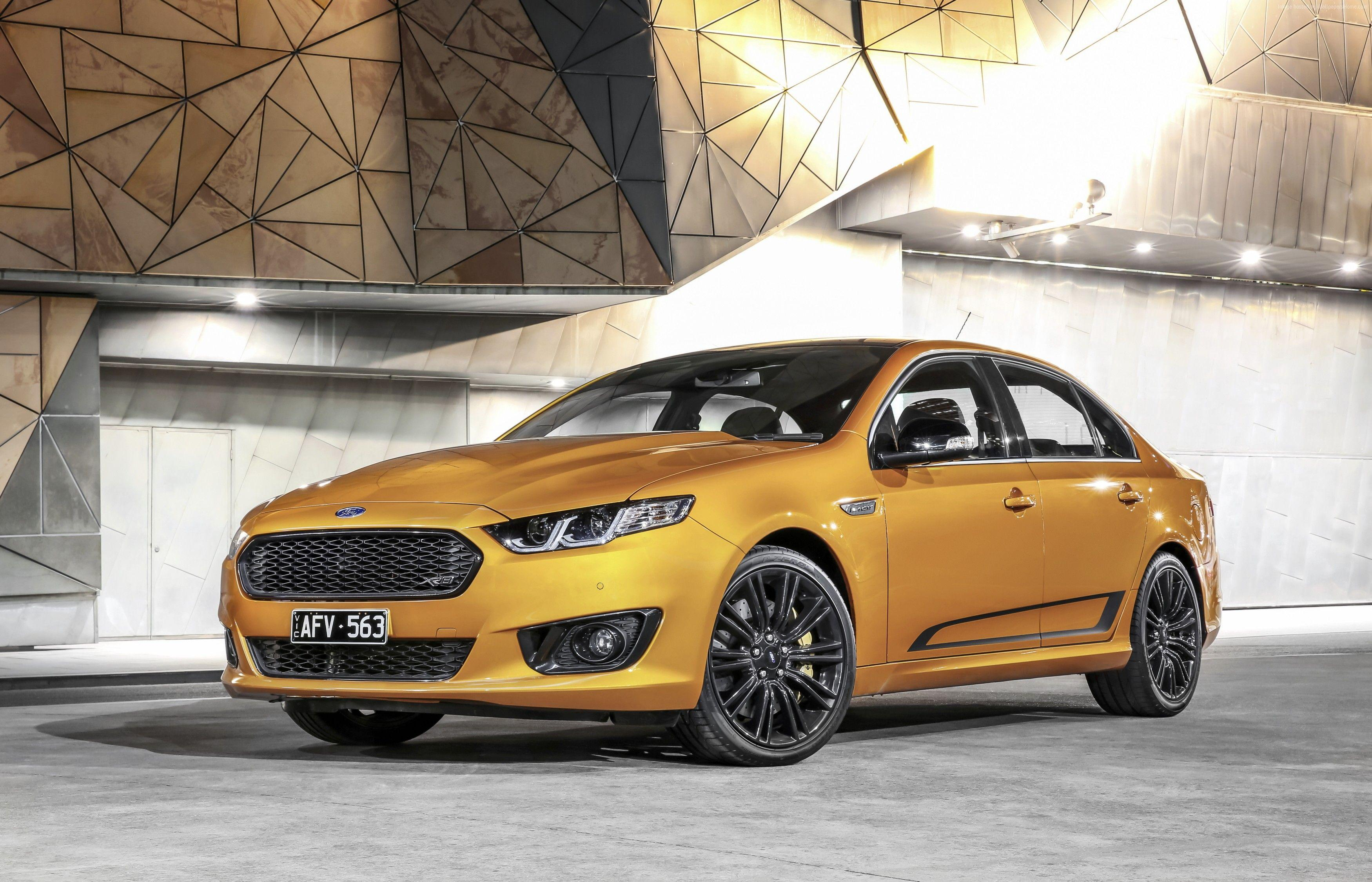 Wallpapers Ford Falcon XR8, limited edition, Sprint, gold, Cars