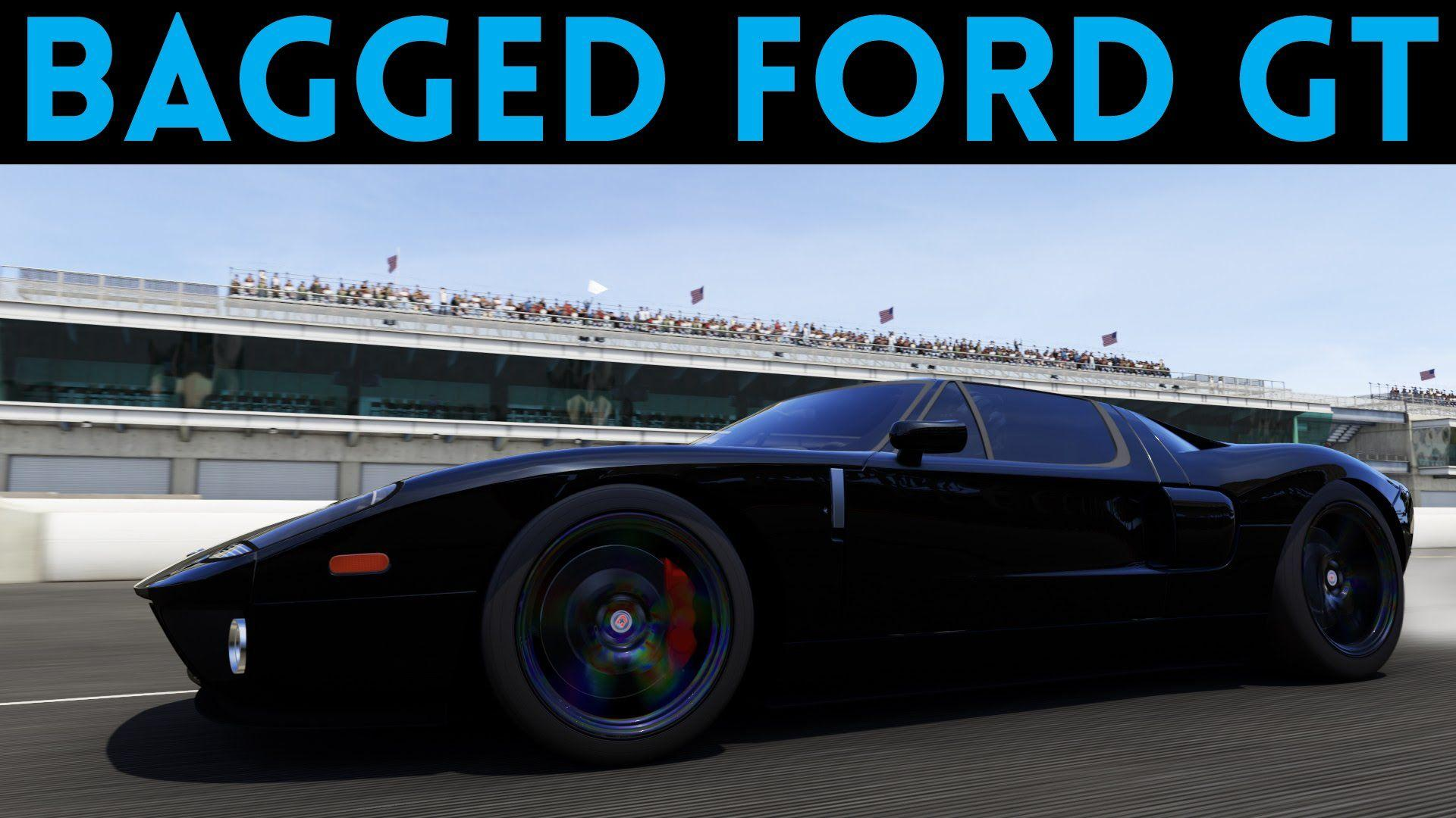 Forza Motorsport  Gas Monkey Garage Bagged Ford Gt Youtube