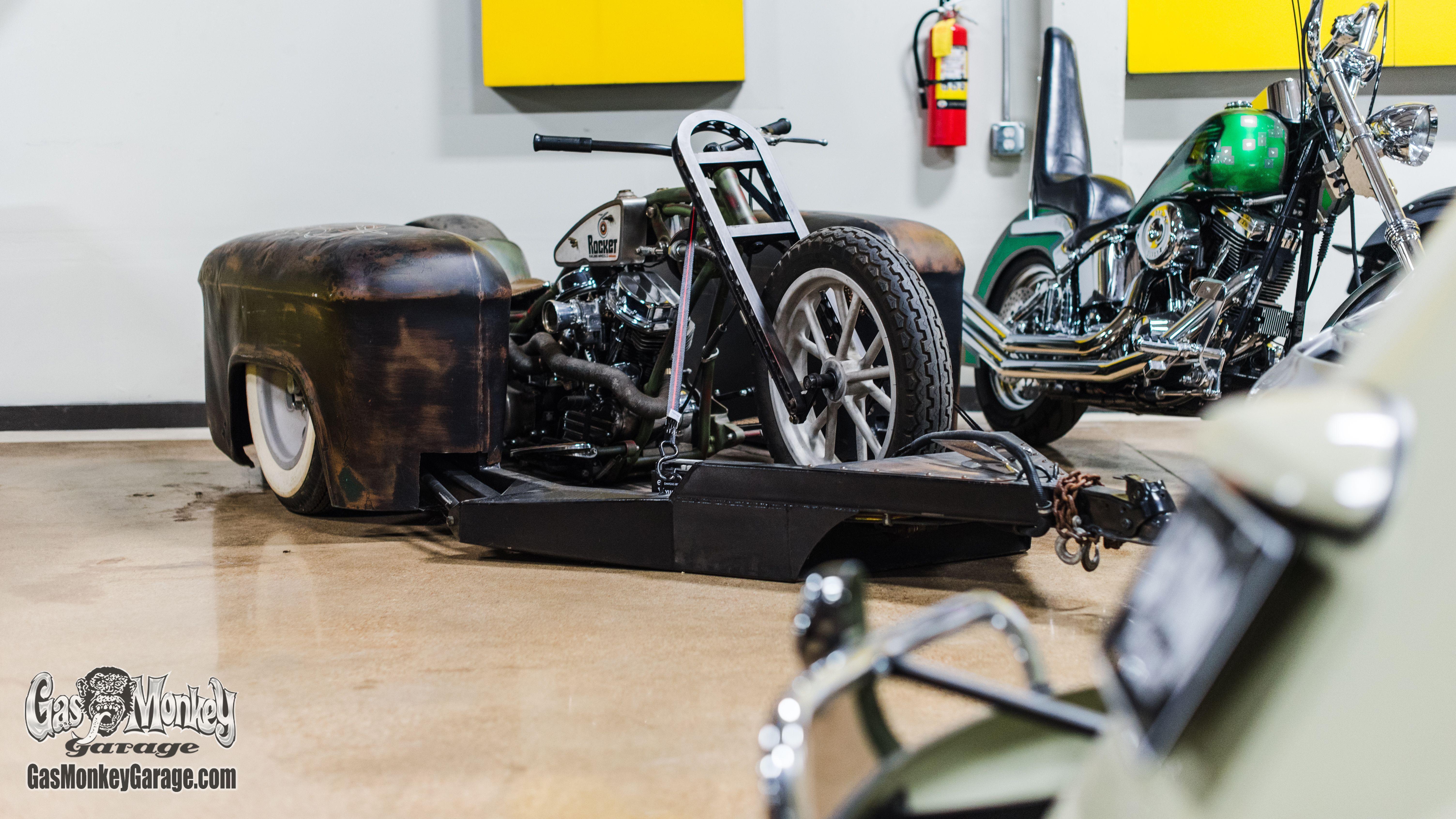 Gas Monkey Garage Wall...
