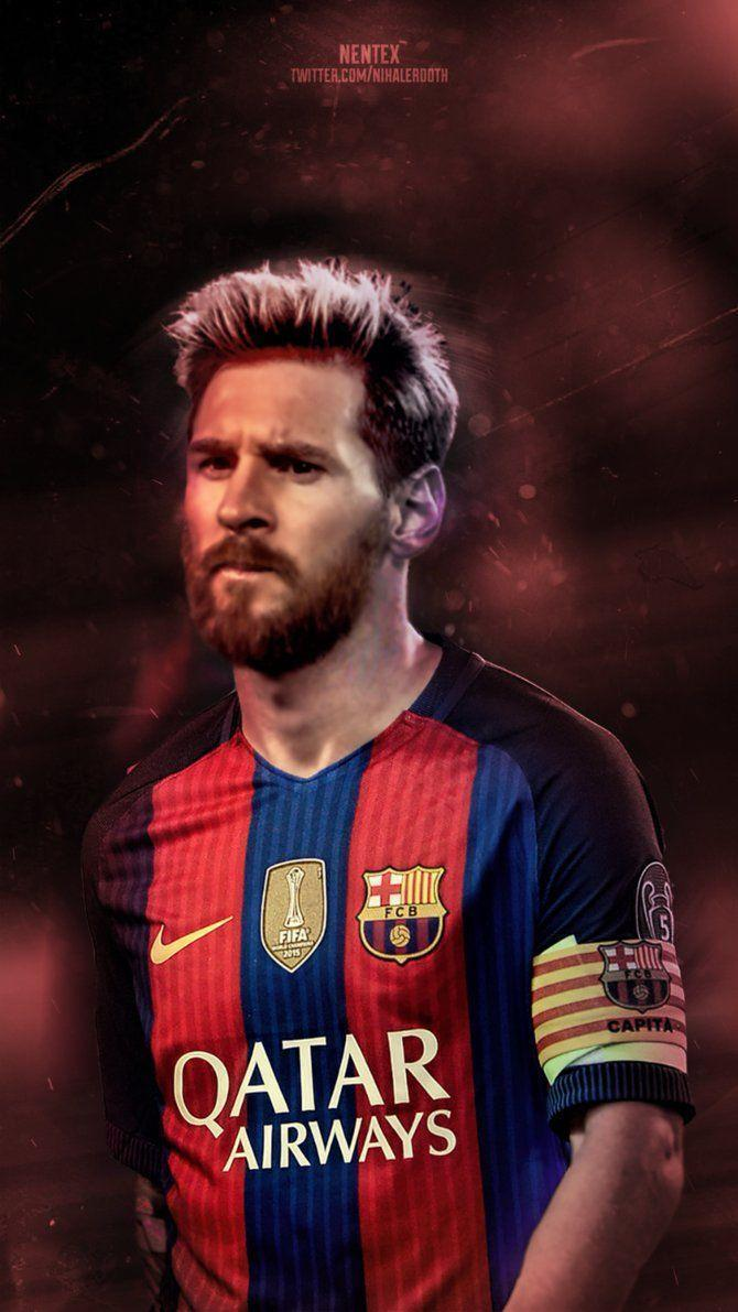 Messi Beard Wallpapers